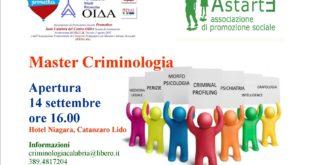 locandina master criminologia