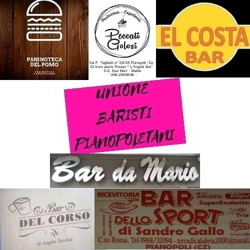 Unione baristi pianopoletani: a Pianopoli bar chiusi fino al 18 maggio