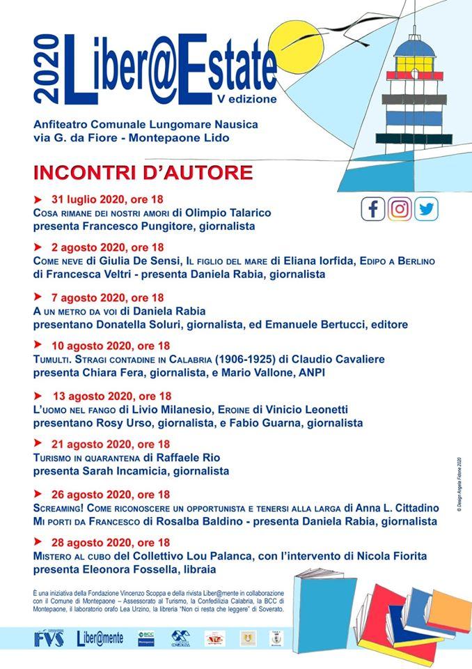 A Montepaone Lido parte la V edizione di Liber@estate
