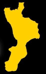Calabria zona gialla
